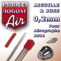 Aiguille&buse 0.2 aéro a011