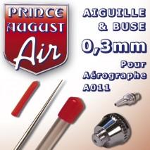 Aiguille&buse0.3 aéro A011