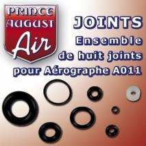 Ensemble 8 joints aéro A011