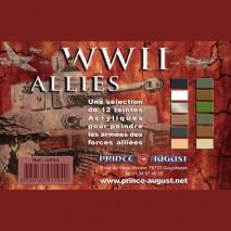 Assort peinture WWII alliés
