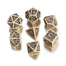 Set de Dés Celtic white & black