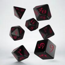 Set de Dés Classic RPG Black & Red