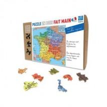 Puzzle carte de france departement