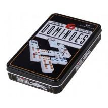 Domino double 6 boite metal