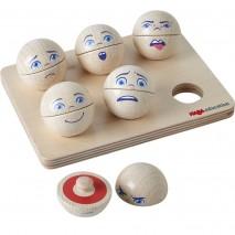 Mixed Emotions Wooden Balls