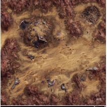 Star Wars Légion Playmat Desert Junkyard