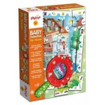 Puzzle baby detective maison