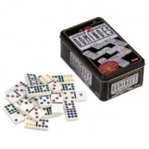 Dominos double 12 boîte metal