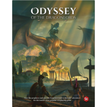 Odyssey of the Dragonlords hardcover adventure book