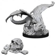 D&D Miniatures Black Dragon Wyrmling