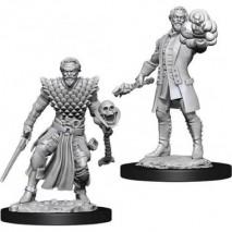D&D Miniatures Male Human Warlock