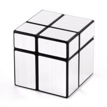 Mirror cube 2x2 silver