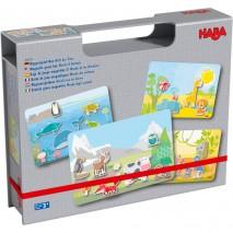 Boîte de jeu magnétique Monde des Animaux