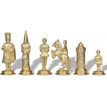 Pièces échecs Métal Camelot 6 cm