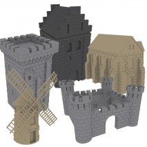 Fief 1429 pack batiments
