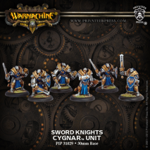 Cygnar Sword Knights