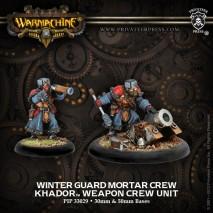 Khador WinterGuard Crew